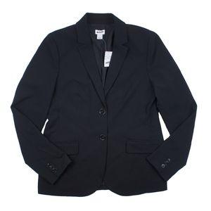 New JCREW Size 8 Black Classic Work Blazer Jacket